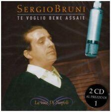 SERGIO BRUNI - TE VOGLIO BENE ASSAIE: LA VOCE DI NAPOL NEW CD