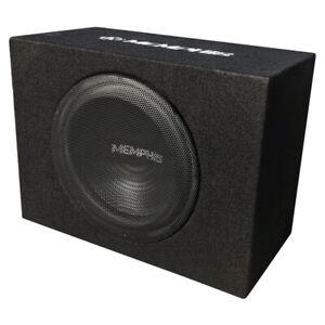 "Memphis Audio SRX12SP Single 12"" Sealed Enclosed Powered Subwoofer"