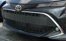 Toyota 2019 Corolla Hatchback XSE Silver Grille Trim Piece Genuine OEM OE