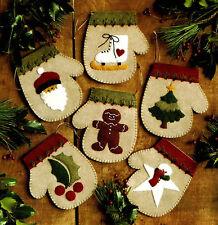 Feutre Craft Kit mains chaudes par Rachael's of Greenfield Noël Décoration Ornements