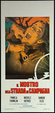 CINEMA-locandina MOSTRO DELLA STRADA DI CAMPAGNA (AND SOON THE DARKNESS) fuest