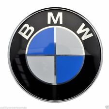 82MM Front Badge Emblem Logo Bonnet Hood 2 Pins For BMW E39 E46 E60 E38 X3 X5