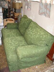 Tetrad Havana Petit sofa green fabric loose cover