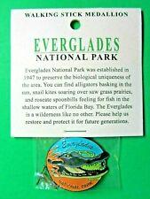 Everglades National Park Hiking Stick Staff Medallion Pin Alligator Florida