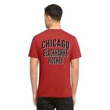 NEW $30 '47 NHL CHICAGO BLACKHAWKS Flanker Backer Tee Shirt Medium M