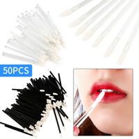 50 PCS Disposable Lip Brush Gloss Wands Applicator Perfect Best Makeup Tool