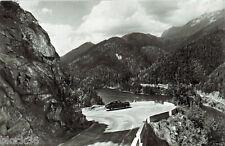 1958 Soviet postcard with photo of the road near the Lake Ritsa (Caucasus)