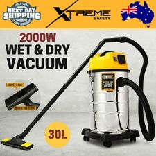 New 2000W 30L Wet and Dry Vacuum Cleaner Bagless Drywall Blower Blowing UNIMAC