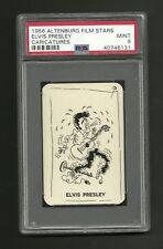 Elvis Presley 1956 Altenburg Film Stars Card PSA 9 MINT