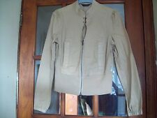 BNWOT Full Circle Biscuit Fitted Cotton Jacket Size XS