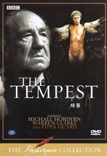 Shakespeare - The Tempest - Michael Hordern. Warren Clarke - BBC Collection DVD