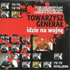 TOWARZYSZ GENERAL IDZIE NA WOJNE, Braun Kaczmarek Polish DVD, Polski film