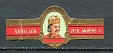 BAGUE DE CIGARE VERELLEN VIEIL ANVERS N° 15  KAREL DE GROTE