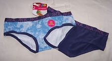 Rio Ladies Blue Boyleg Boy Style Brief 2 Pack Size 14 / 16 New