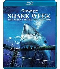 Shark Week: The Great Bites Collection (Blu-ray Disc, 2009) - NEW!!