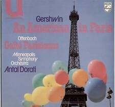 ANTAL DORATI ~ GERSHWIN / OFFENBACH ~ 1974 UK LP RECORD ~ PHILIPS 6582 019