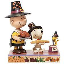 Jim Shore 6006943 Thanksgiving Charlie Brown 2020 Peanuts Snoopy