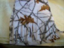 Fleece scarf Real Tree True Timber Snow camo