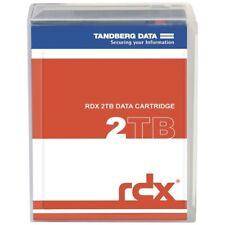 Tandberg RDX QuikStor 8731-RDX 2TB External Hard Drive Cartridge - USB