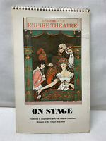 Vintage Broadway Theatre Collection 12 Month Postcard Calendar Published in1983