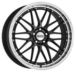 Dotz Revvo dark wheels 7.5Jx17 ET38 5x114,3 for Daihatsu Terios rims