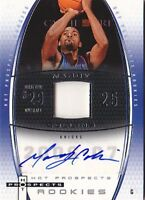 MARDY COLLINS RC 06-07 HOT PROSPECTS ROOKIES #84 JERSEY AUTO #011/250 BK3344