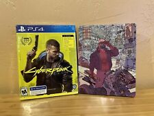 **NEW** Cyberpunk 2077 + Best Buy Exclusive Steelbook for PlayStation 4 - PS4