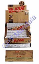 RAW slim - Lot de 50 Carnets (Feuilles non blanchies)