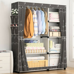DIY Non-woven fold Portable Storage furniture When the quarter wardrobe Cabinet