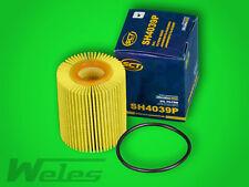 sh4039 Filtro de aceite TOYOTA AURIS AVENSIS (T25, T27) 2,0 2,2 D d-4d Corolla