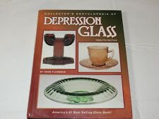 Collector's Encyclopedia Depression Glass by Gene Florence 1996 Hardcover book ~