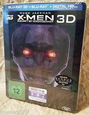 X-MEN DAYS OF FUTURE PAST Blu-Ray 3D+2D Germany Media Markt Lenticular STEELBOOK