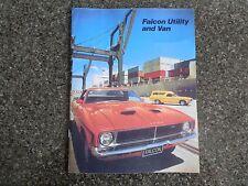 1974 FORD XB FALCON UTE AND VAN SALES BROCHURE  100% GUARANTEE