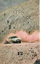 LE DOUBLE CHEVRON 45 1976 RALLYE DU MAROC 2CV CROSS CITROEN C6 FAUX CABRIOLET 29