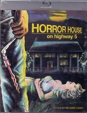 Horror House On Highway 5 Blu Ray & DVD Vinegar Syndrome Richard Casey 1985 cult