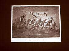 Incisione di Gustave Dorè del 1874 Entierro de limosna Corteo funebre Siviglia