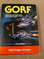 GORF by CBS for Atari 2600 ▪︎ COMPLETE IN BOX ▪︎ FREE SHIPPING ▪︎