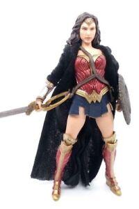 Su-Ww-B: Verkabelt Stoff Umhang Für Mezco Shf Mafex Wonder Woman (Ohne Figur)