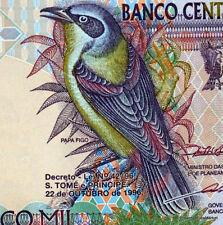 Sao Tomé-et-Principe billet NEUF 5000 DOBRAS 1996 OISEAU et ROI AMADOR  Pick 65b