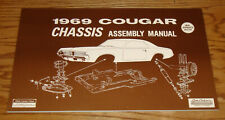 1969 Mercury Cougar Chassis Assembly Manual 69