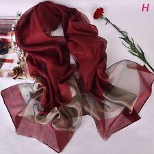 High Quality Beach Organza Long Shawl Fashion Shawls Scarves Women Scarf Silk