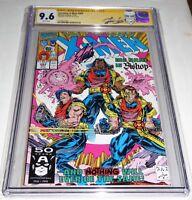 Uncanny X-Men #282 CGC SS Signature Autograph STAN LEE 1st Bishop Malcolm Cameo