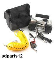 150 Psi Compresor de Aire Doble Cilindro Mano para Coche Hinchador Neumáticos