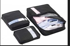 NEW, 3 Pieces Casetidy Packing Cubes Organizer in Black