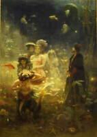 Ilya Repin Sadko Poster Reproduction Paintings Giclee Canvas Print