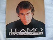 Dave Willetts - Ti Amo /Angel of Serenity - Silver Screen SILVA 103
