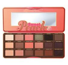 Faced Sweet Peach Eye Shadow Collection Palette 18 Colors Eyeshadow Makeup