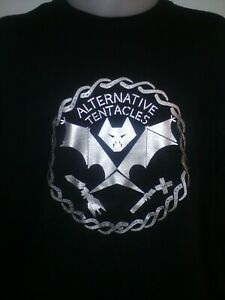 Alternative Tentacles bat Label T Shirt S-XXL GILDAN Punk T-Shirt Tee-Shirt Old School