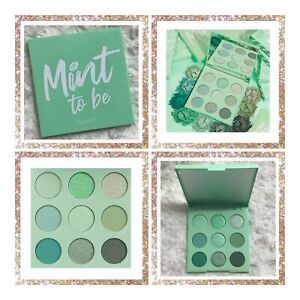 COLOURPOP ~ MINT TO BE EYESHADOW PALETTE ~ BRAND NEW WITHOUT BOX