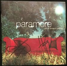 PARAMORE SIGNED AUTOGRAPH CD COVER HAYLEY WILLIAMS ALL WE KNOW IS FALLING
